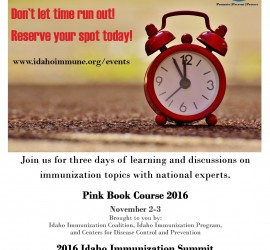 Pink Book Course and Summit 2016-Second Registration Flyer