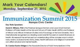 2015 Immunization Summit